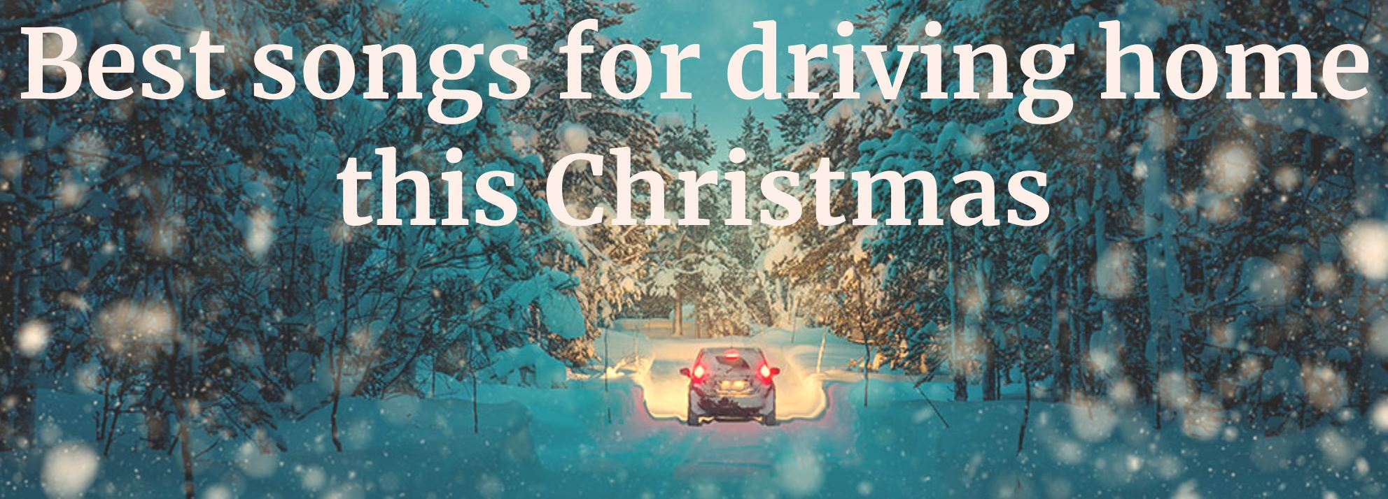 Christmas driving songs