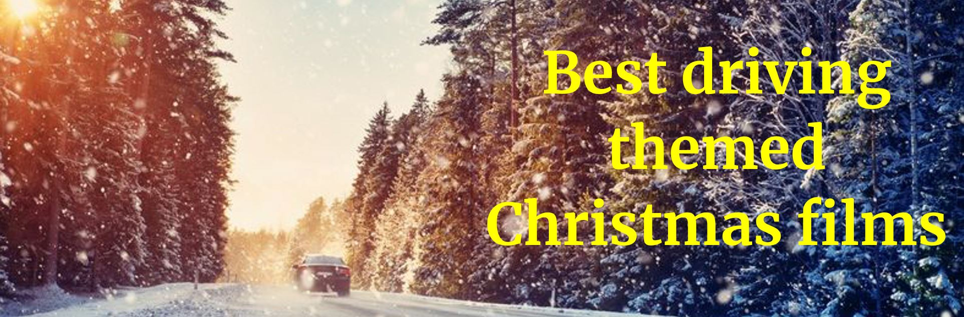 Redtail best driving themed Christmas films