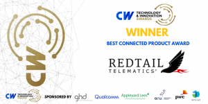 Redtail Telematics wins Winner of the Best Connected Product Award at the 2020 Cambridge Wireless Technology and Innovation Awards