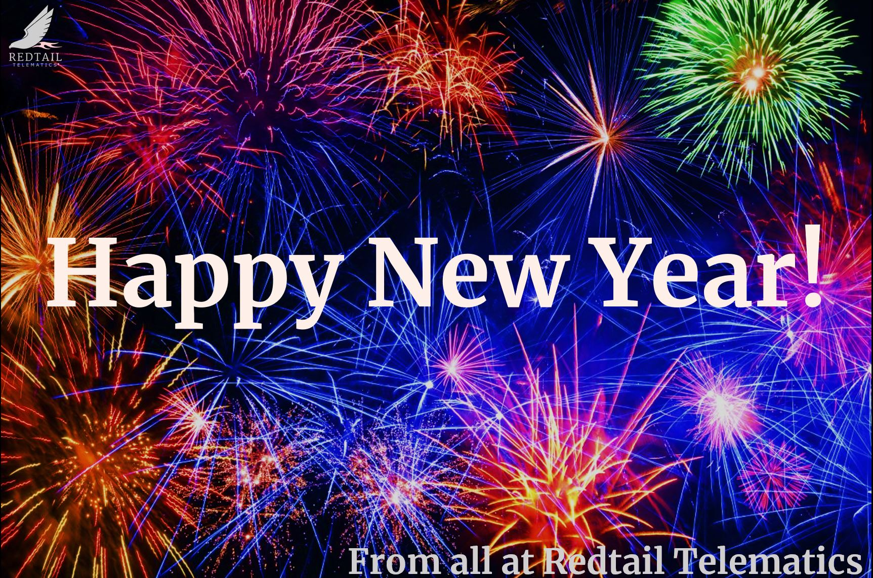 Happy New Year 2021 from Redtail Telematics!
