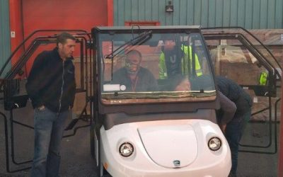 48v vehicle tracking – the adventures of a golf cart